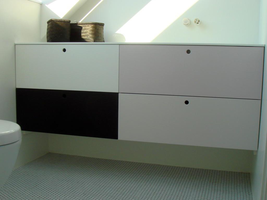 Møbler Til Badeværelset I RAL Farver