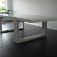 400 Kg Spisebord Med Solid Surface Bordplade