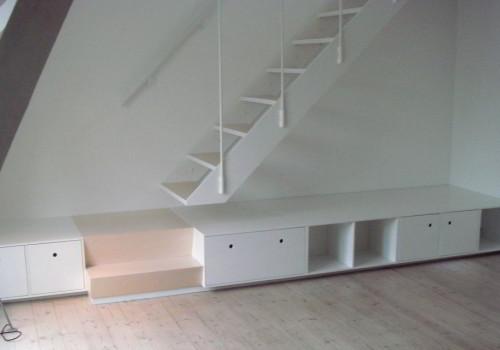 Trappemøbel Og Speciallavet Jerntrappe