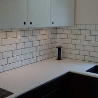 Køkken I Røget Eg – Vask Og Overskabe