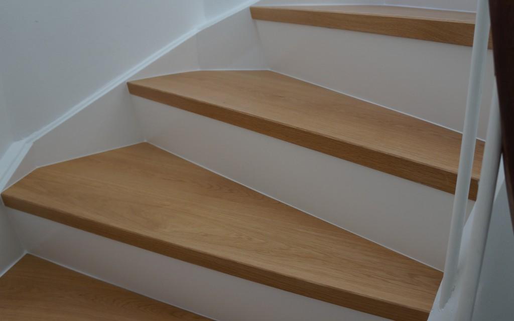 Beklædning af trappe